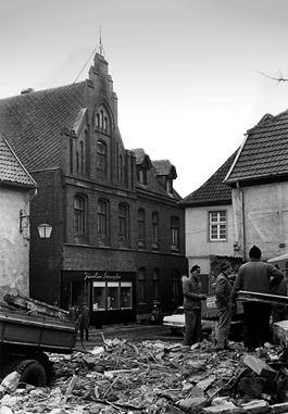 Abriss 1963 Haus Engermann