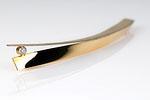 Stabnadel 585/Gelbgold und Weißgold mit Brillant